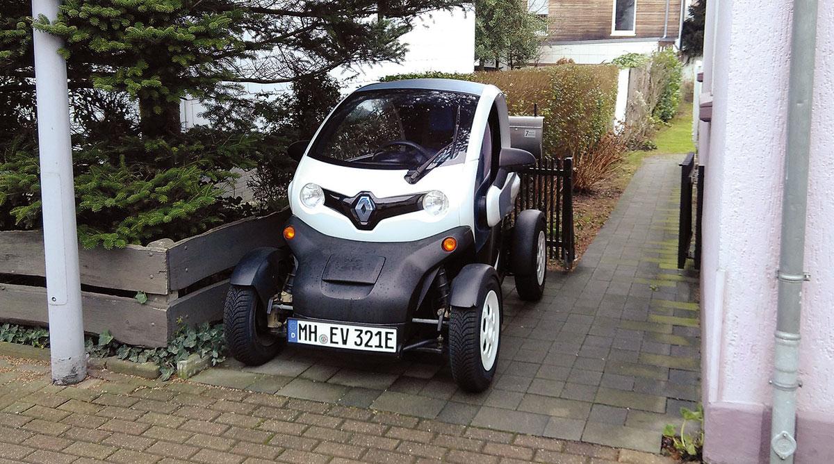 Renault Twizy - Privatparkplatz
